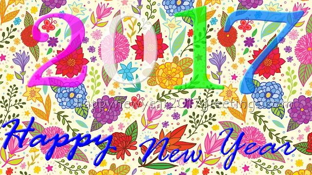 Happy New Year 2017 Colourful HD Wallpapers Download Free