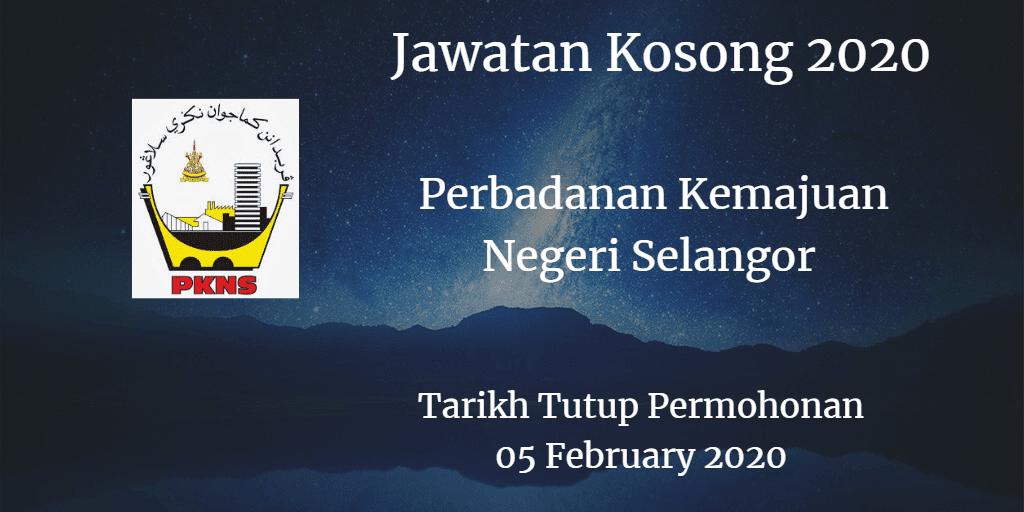 Jawatan Kosong PKNS 05 Feb 2020