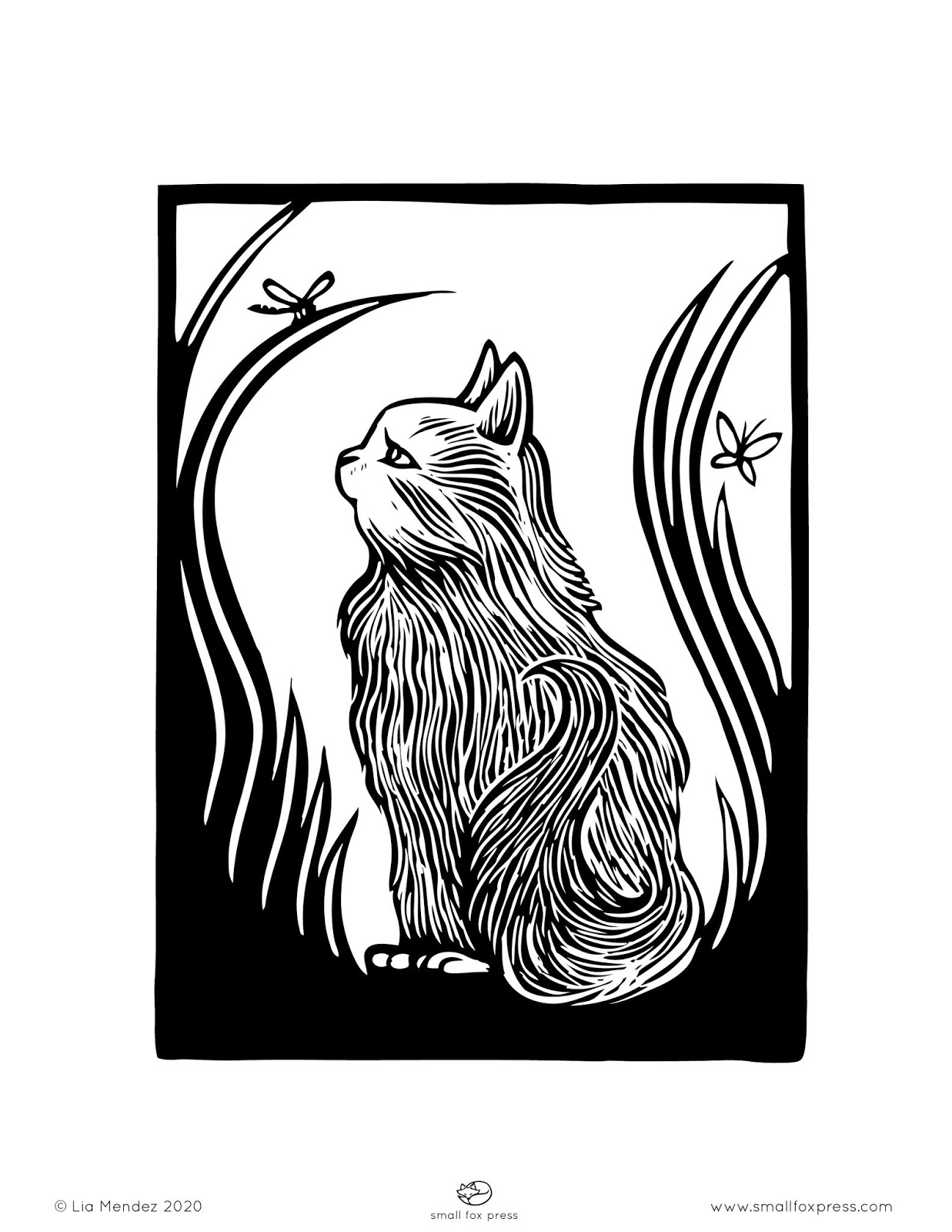 Small Fox Press Free Printable Coloring Pages