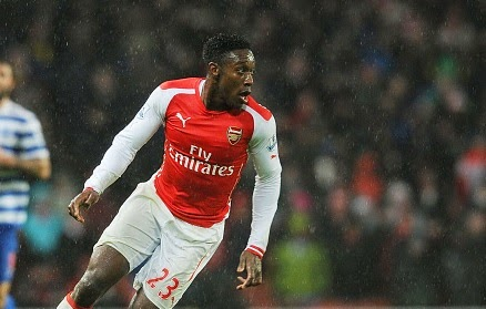 Arsenal give Danny Welbeck injury boost