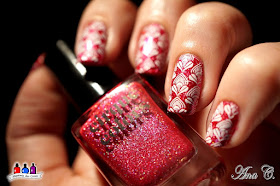 Cirque, lolly lips, pink holográfico, kawaii collection, moyou flower power 10