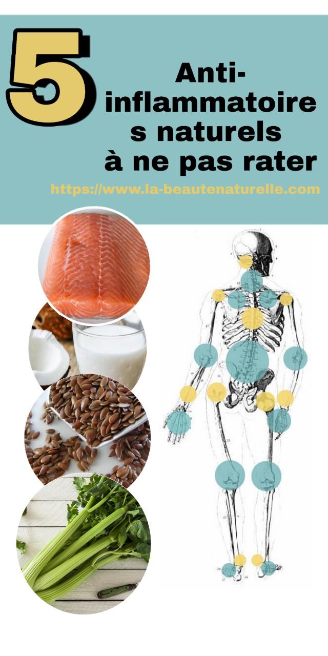 5 Anti-inflammatoires naturels à ne pas rater