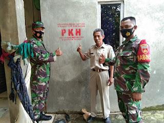 Danramil Hadiri Musyawarah Penerima Program Keluarga Harapan PKH