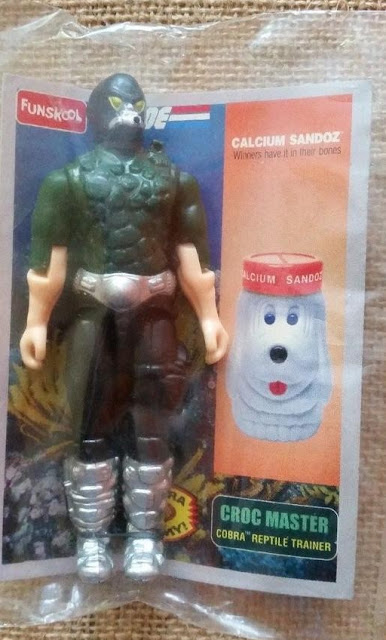Funskool Calcium Sandoz Croc Master - Dark Green