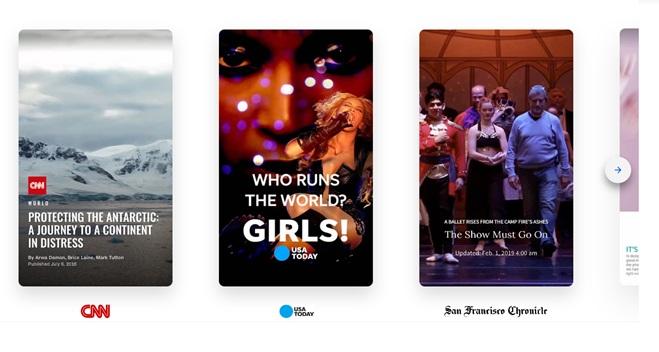 El crecimiento explosivo de las historias de Snapchat, Instagram y AMP
