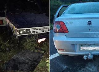 Acidente com dois carros deixa um morto e nove feridos no interior da PB