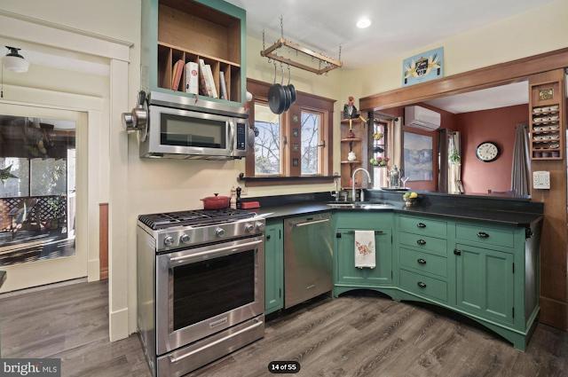 color photo of kitchen of Sears Kilbourne 4219 Nicholson Street, Hyattsville, Maryland