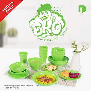 Technoplast Eko Dinner Set of 20