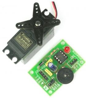 Skema Rangkaian Tester Penggerak Motor Servo Sederhana