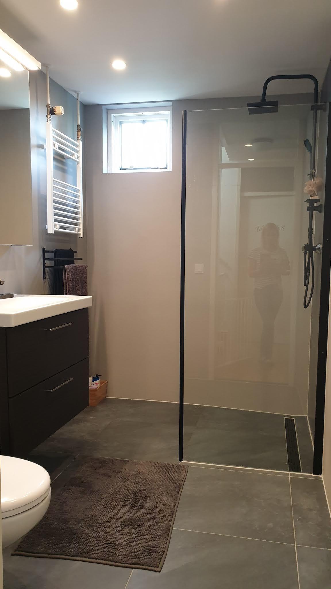Łazienka w naszym domu w Holandii