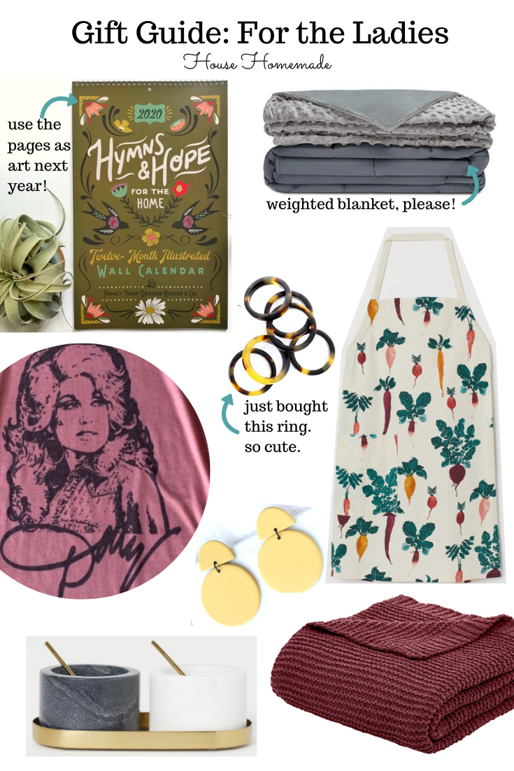Gift Guide: for the ladies | House Homemade