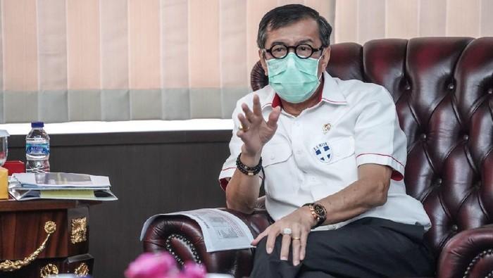 Menkum HAM: Kepengurusan PD Kubu Moeldoko Sudah Tak Mungkin Lagi Diproses