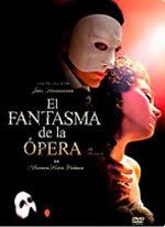 El fantasma de la ópera de Andrew Lloyd Webber