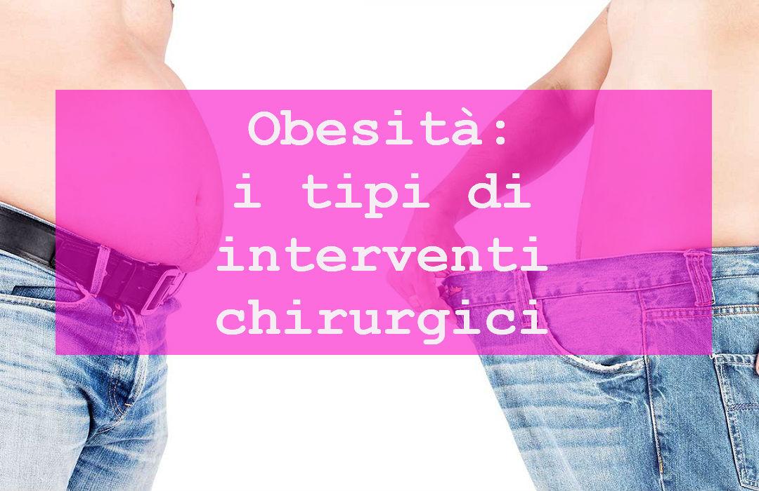 chirurgia di perdita di peso non obesito