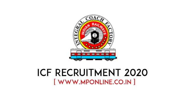 ICF Integral Coach Factory Recruitment 2020
