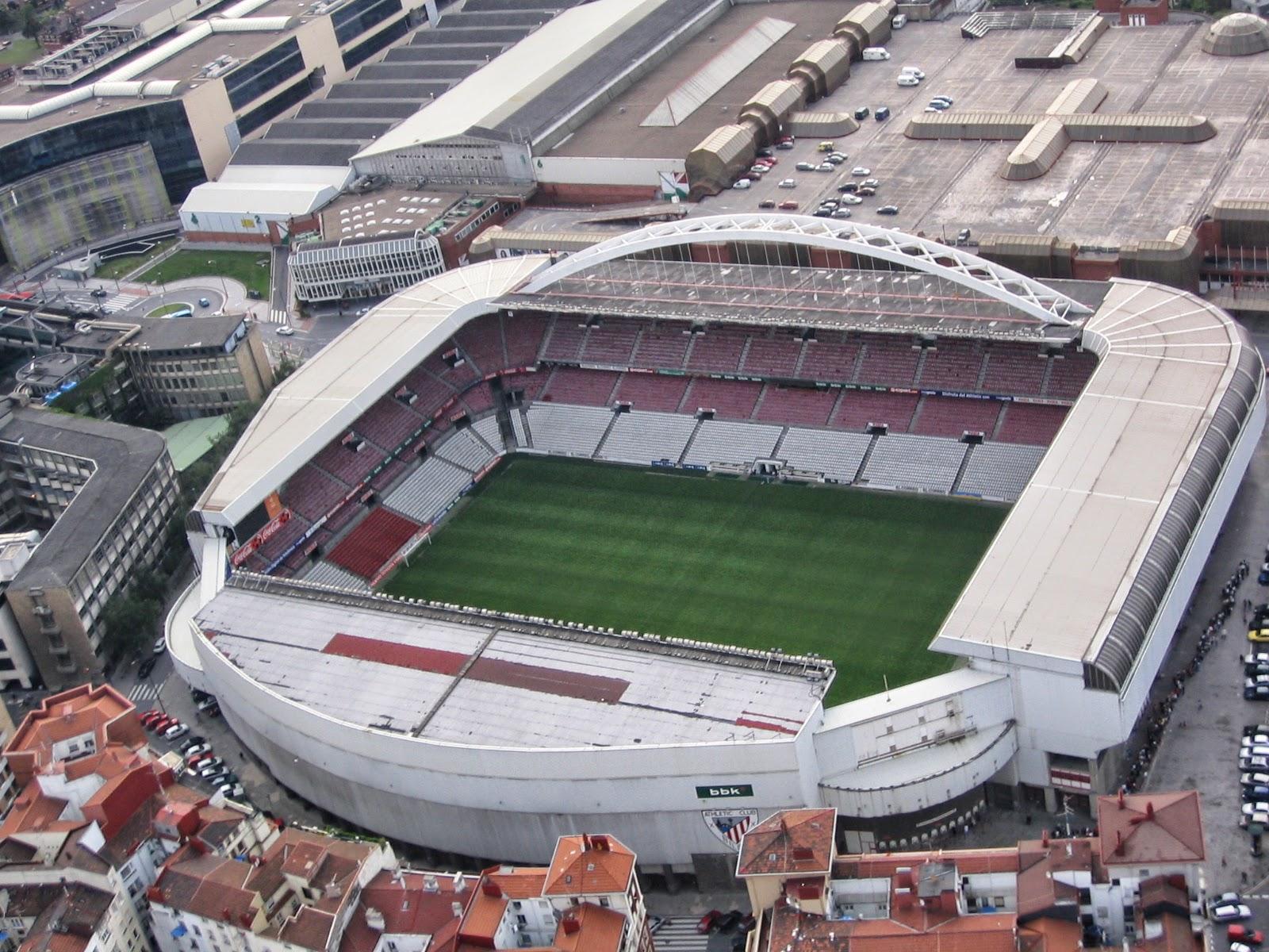 San Mames Stadium Athletic Bilbao Stadium