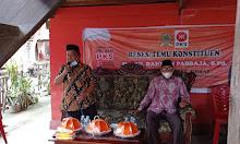 Abd Rahman Pabbaja Menyerap Aspirasi Warga Salo Bukkang