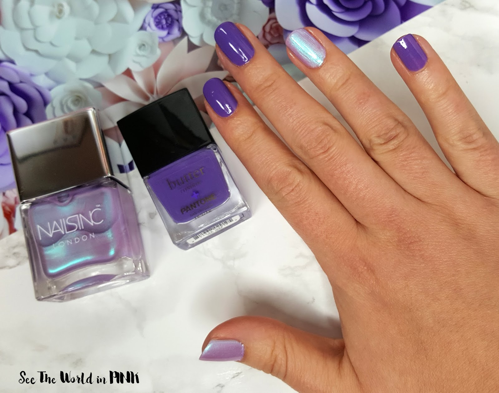 Manicure Monday - Butter London + Pantone 2018 Color of the Year ...