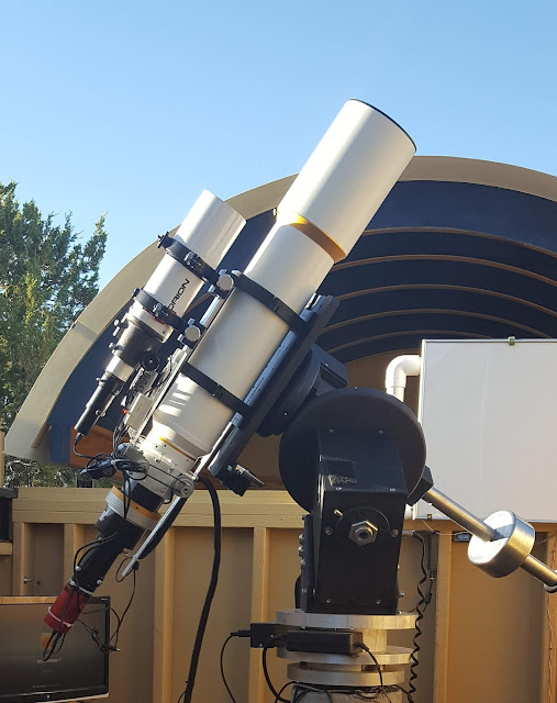 "Astronomical Telescope for Educational Outreach (ATEO-2) 5"" f/7 Refractor. Photo by John Evelan."