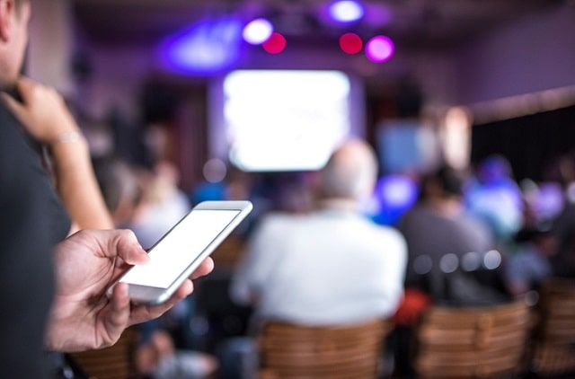 reasons use technology organized new event
