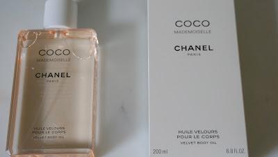 Chanel Coco Mademoiselle Velvet Body Oil