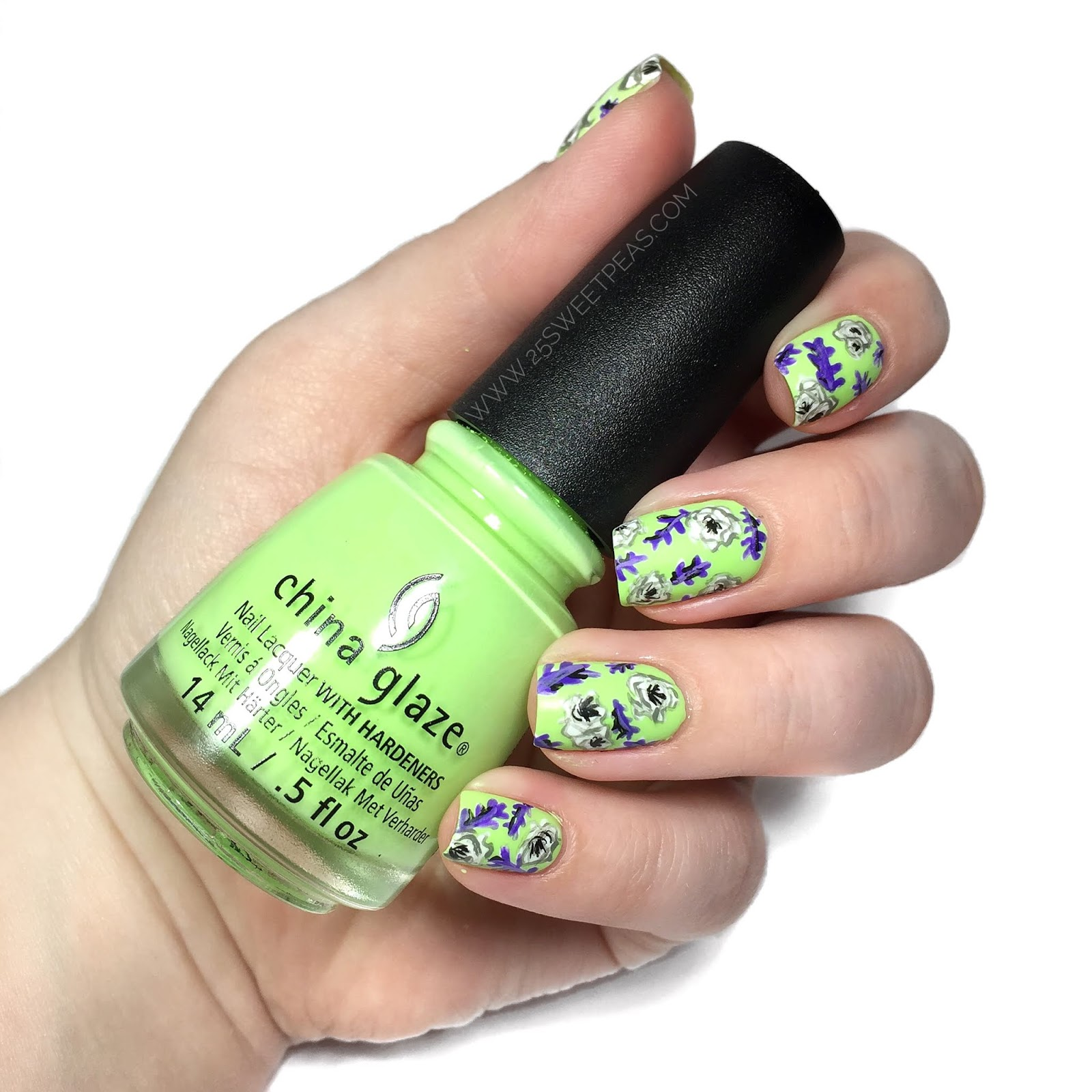 Nails Inspired by Royal Wedding Fashion - 25 Sweetpeas
