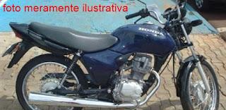 Moto é furtada no centro de Soledade