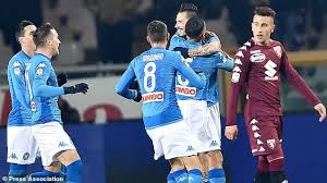 Napoli vs Udinese Live Streaming online Today Tuesday 19 - 12 - 2017