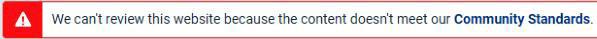facebook blocked my domain