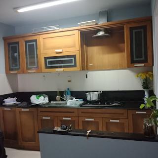 nhà bếp chung cư an viên 1 phòng ngủ khu nam long