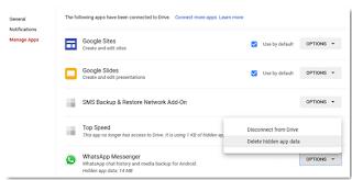 Cara Menghapus Backup WhatsApp dari Google Drive supaya hilang permanen