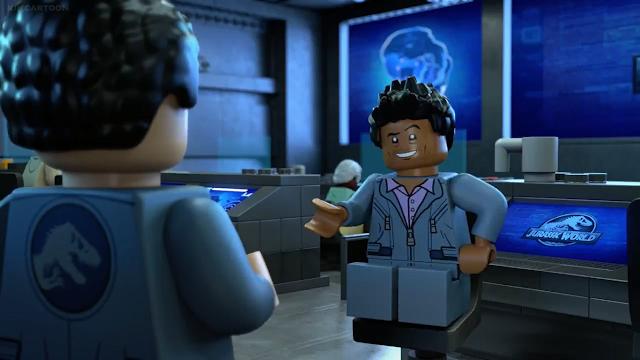 Lego Jurassic World The Secret Exhibit in Hindi HD 6