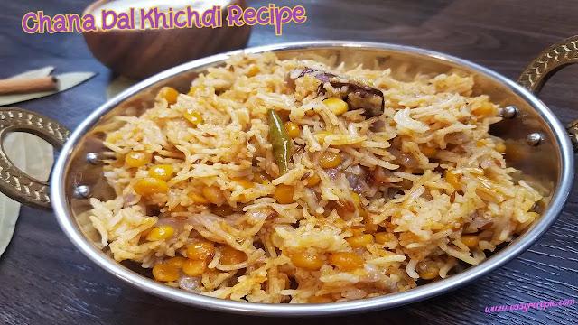 Chana dal khichdi recipe dhaba style at home