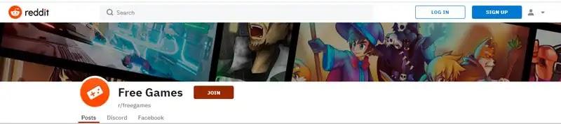ثالثاً : تحميل الألعاب من موقع Reddit ريديت