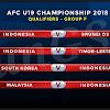 Live Streaming, dan Hasil Indonesia U19 Vs Malaysia U19, Kualifikasi Piala Asia 6 November 2017