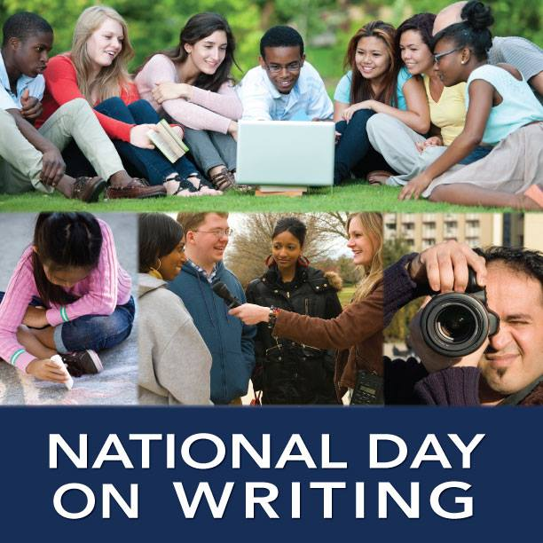 National Day on Writing Wishes For Facebook