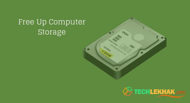 Computer Storage Free Kaise Kare