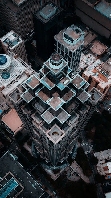 City Aerial View Free HD photo