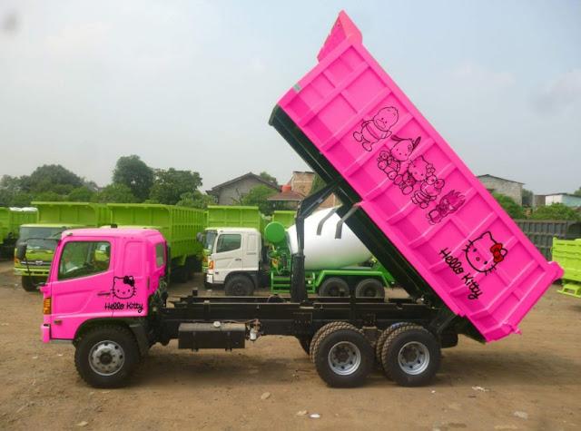 truk tronton modifikasi indonesia
