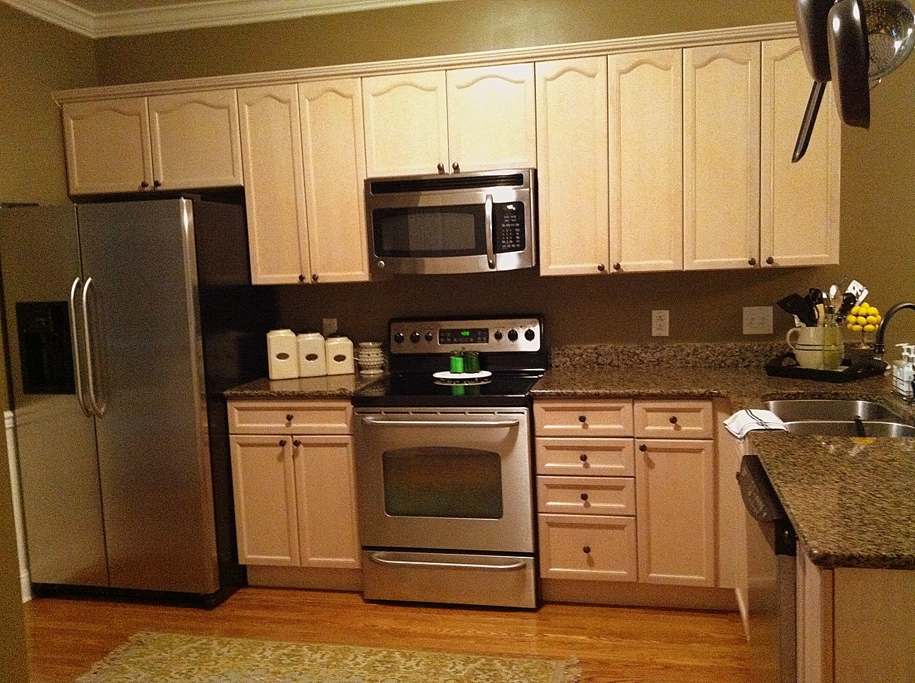 Painted Kitchen Cabinets Before After