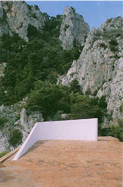 Casa Malaparte in Capri | Adalberto Libera + Curzio Malaparte | Plant + section + video