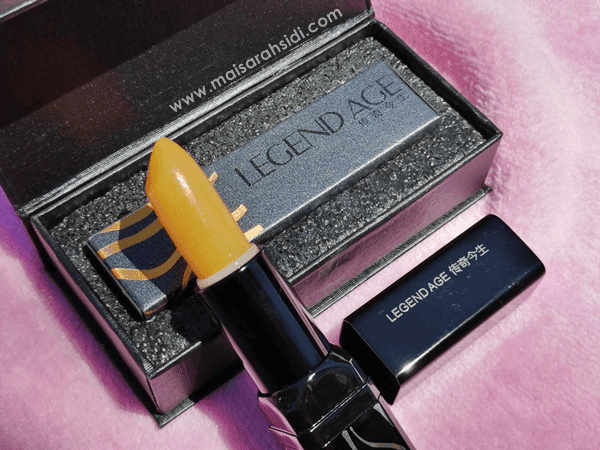 Gincu Legend Age Merawat Bibir Kering, Bergaris dan Merekah