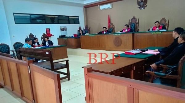 Sidang Tuntutan, Jaksa Tuntut Erik Empat Tahun dan Enam Bulan Penjara