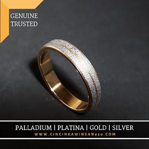 cincin kawin palladium single 526pd