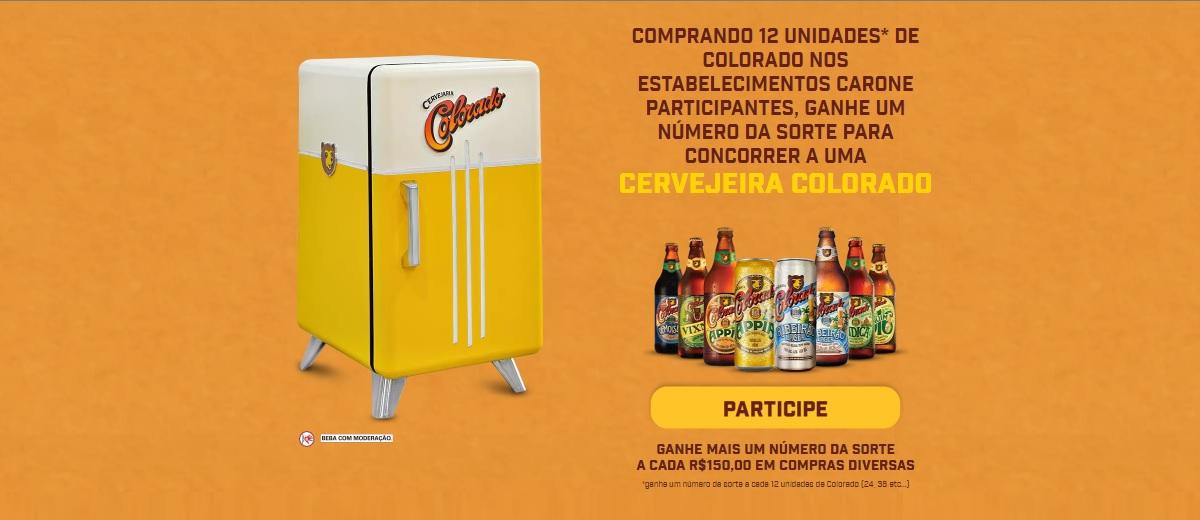 Promoção Cervejeira Colorado Carone Cadastrar Supermercados 2021