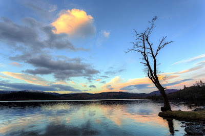 Loch Ard Scotland_by_Laurence Norah