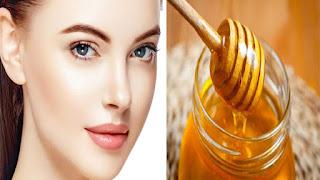 العسل لتفتيح البشرة