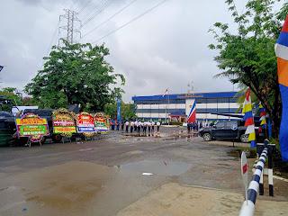 KPLP Peringati HUT ke 48 Dengan Apel Bendera di Pangkalan PLP Tanjung Priok