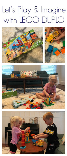 Play & Imagine with Lego Duplo || The Chirping Moms