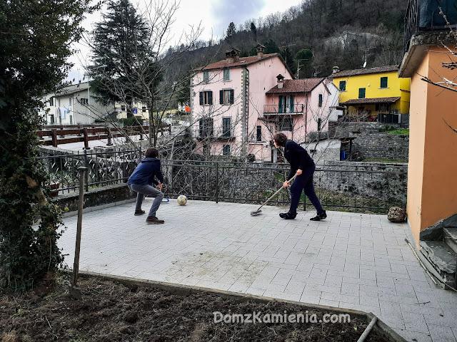 kwarantanna we Włoszech Dom z Kamienia
